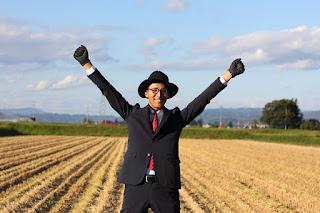 """Chàng nông dân Nhật ăn mặc """"đẹp nhất quả đất"""""""