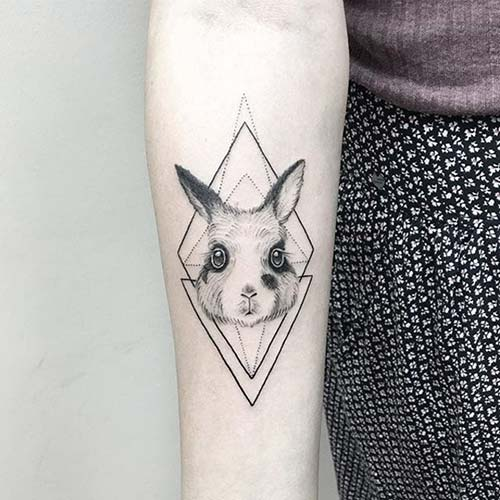 geometrik bilek dövmeleri geometric wrist tattoos 40