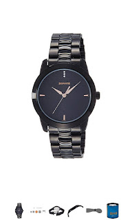 Sonata analog men's watches