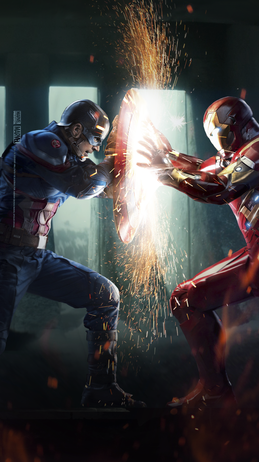 Marvel Spoiler Oficial Captain America Civil War Wallpaper