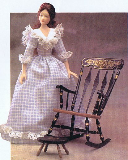 Dolls and their Dresses - Inspiration for your dollhouse