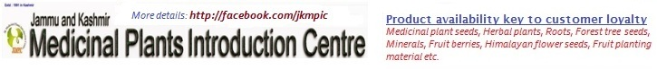 Jammu and Kashmir Medicinal Plants Introduction Centre