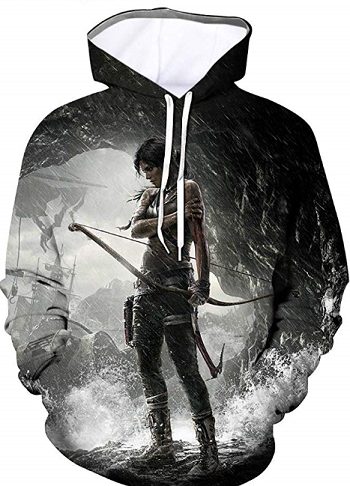 Great TombRaider hoodie at Amazon.co.uk
