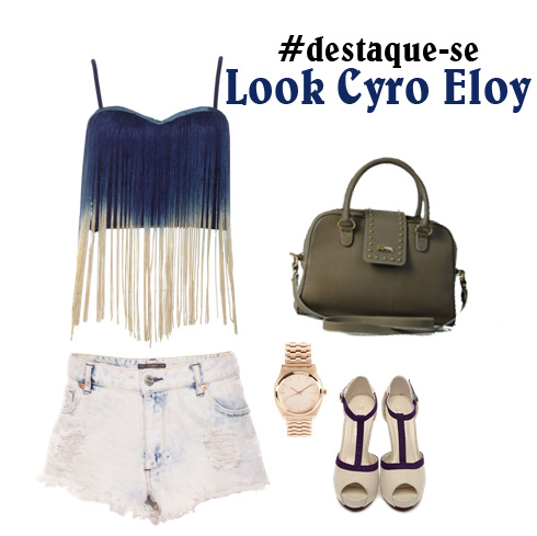 """03ee9a641 Look Cyro Eloy: """"Nas franjas do mar..."""""""