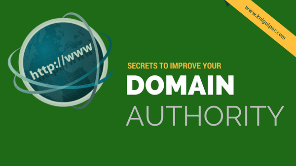 Increasing Domain Authority