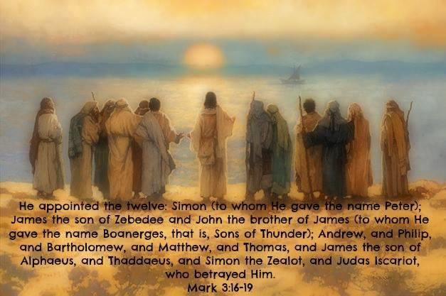 Mark 3:16-19