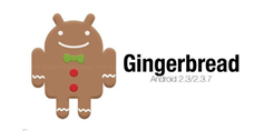simbol Android versi Gingerbread