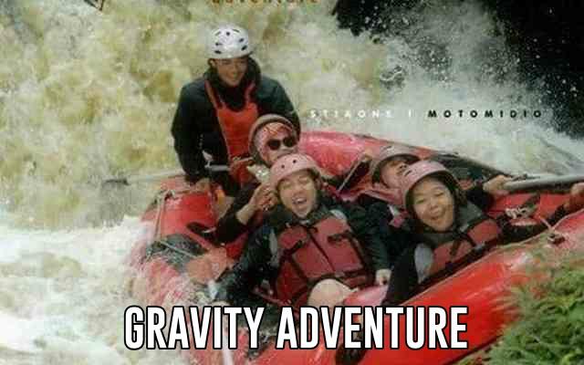 serunya rafting di gravity adventure selain murah juga paling aman dan menntang