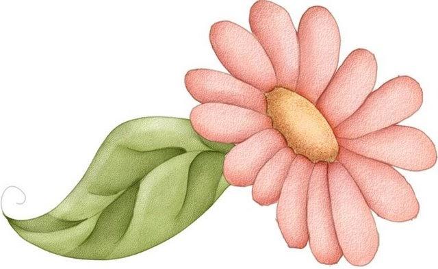 Flores En Dibujo A Color: Imagenes De Flores Coloreadas