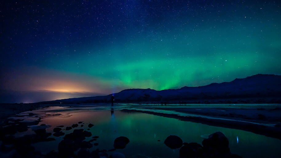 Aurora Borealis, Northern Lights, Night, Sky, Scenery, 4K, #6.920