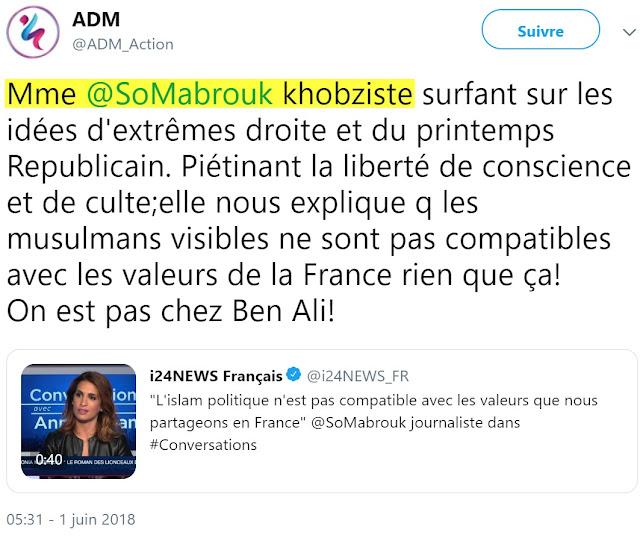 "Sonia Mabrouk insultée de ""khobziste"""