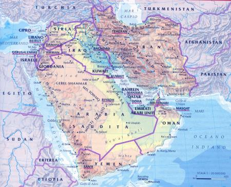 Cartina Asia Occidentale.Riassunto Asia Occidentale Scuolissima Com