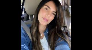 Gaby Espino en triste en Instagram