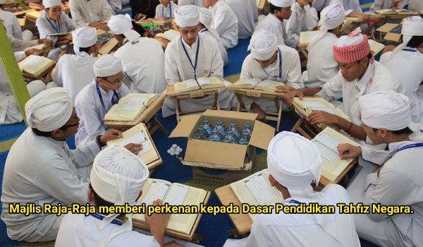 Majlis Raja-Raja memberi perkenan kepada Dasar Pendidikan Tahfiz Negara