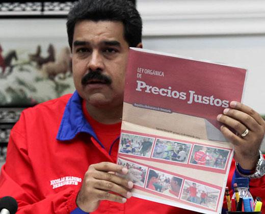 """Maduro anunció fijarán nuevos precios de productos regulados """"por debajo"""" de los que """"imponen los bachaqueros"""""""