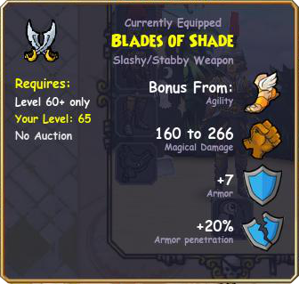 Pirate101 Blades of Shade