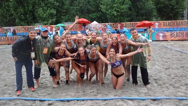 Argentina Beach Handball Femenino