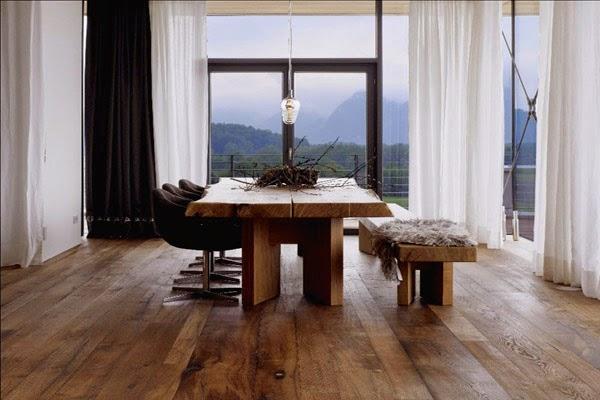 Voorkeur Donkere houten vloer, tropische houten vloer, donkere eiken vloer #GX69