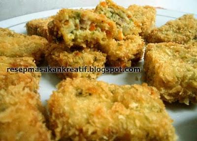 Cara Membuat Nugget Sayur Resep Wortel Brokoli RESEP NUGGET SAYUR WORTEL BROKOLI