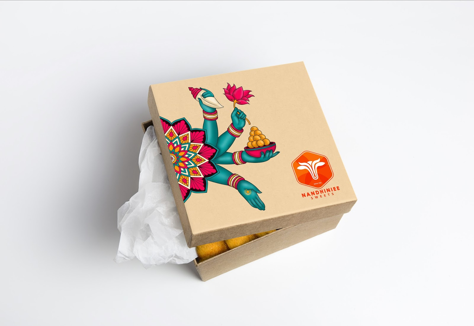Nandhiniee Sweets on Packaging of the World - Creative ...
