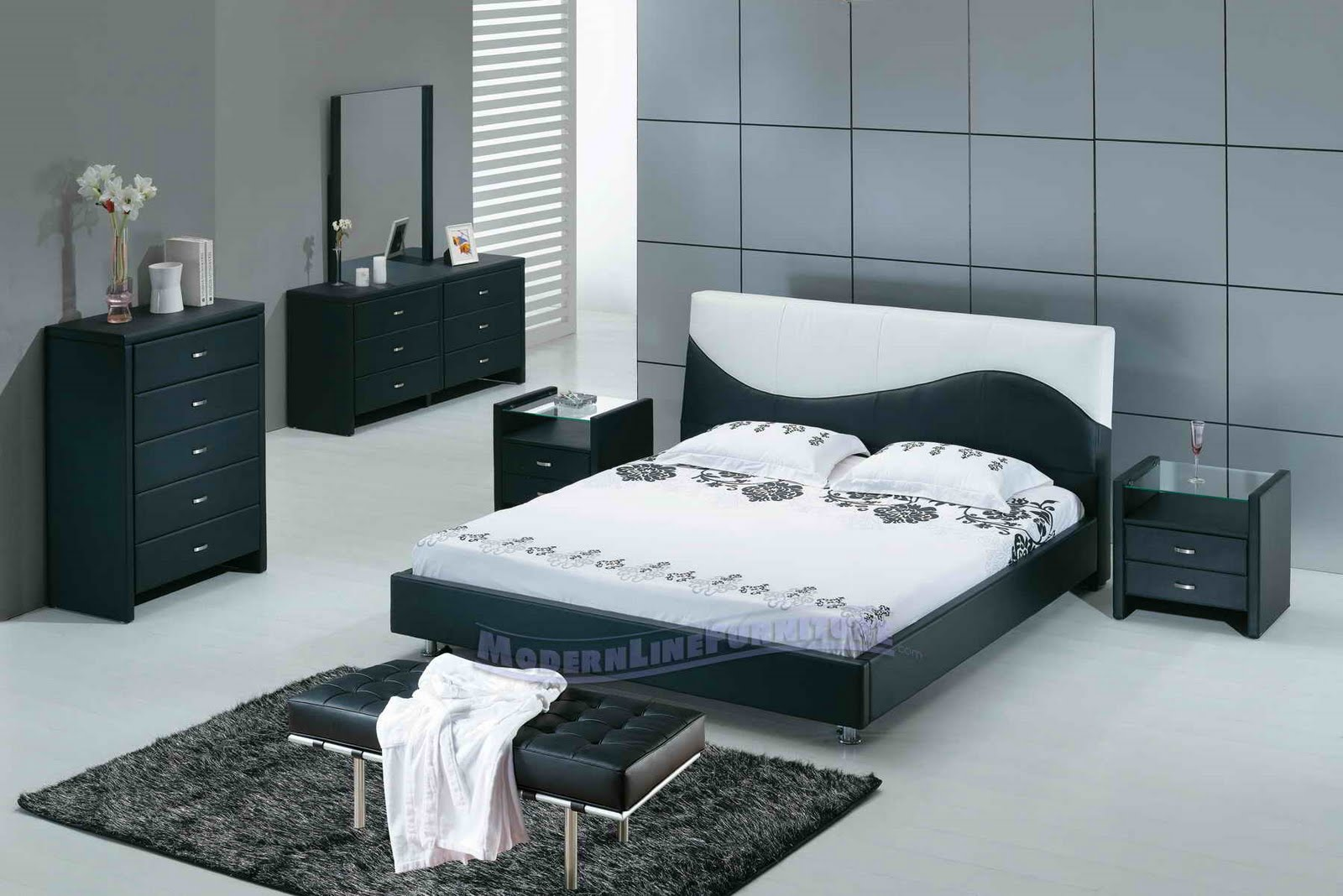 All Black Bedroom All About Home Decoration And Furniture Modern Minimalist