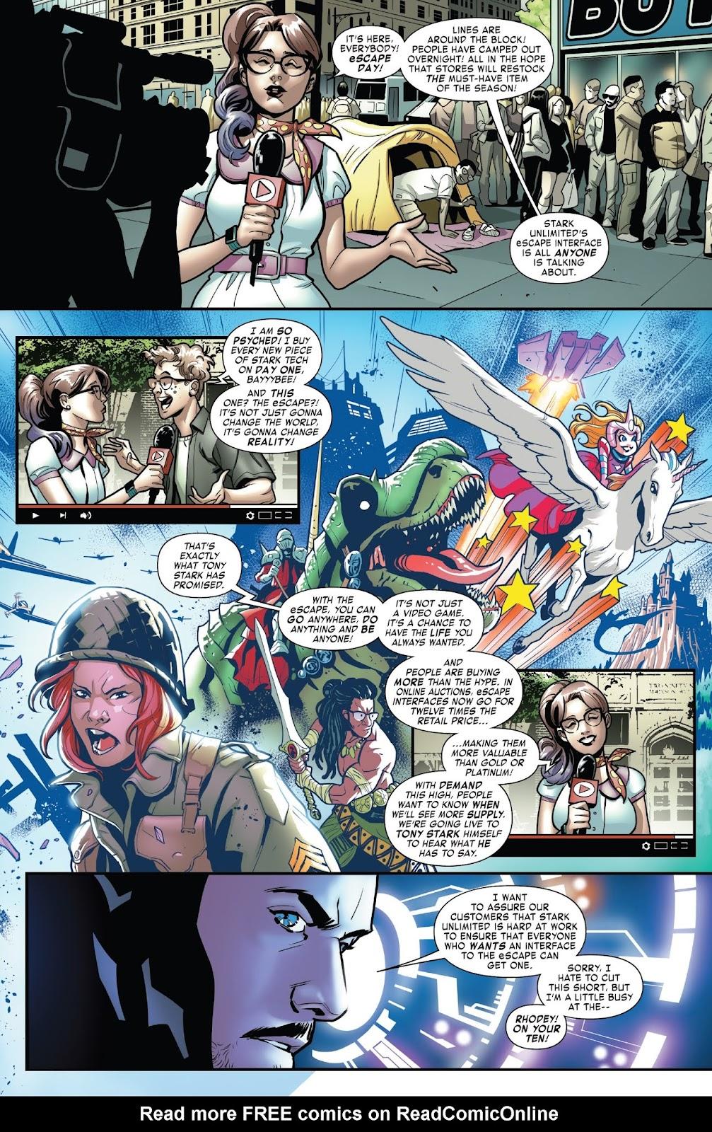 Read online Tony Stark: Iron Man comic -  Issue #6 - 4