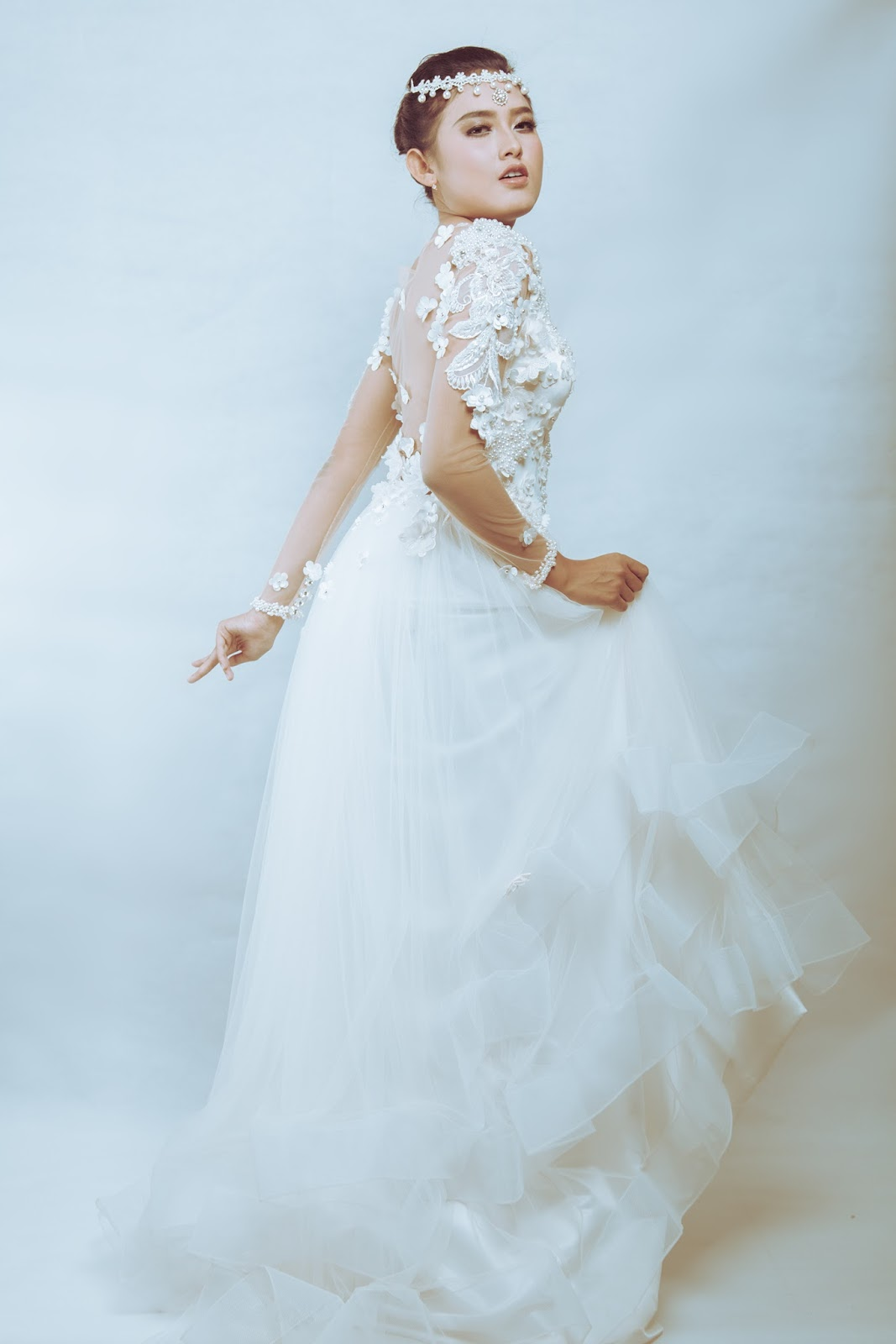 Famous J Aton Bridal Gowns Embellishment - All Wedding Dresses ...