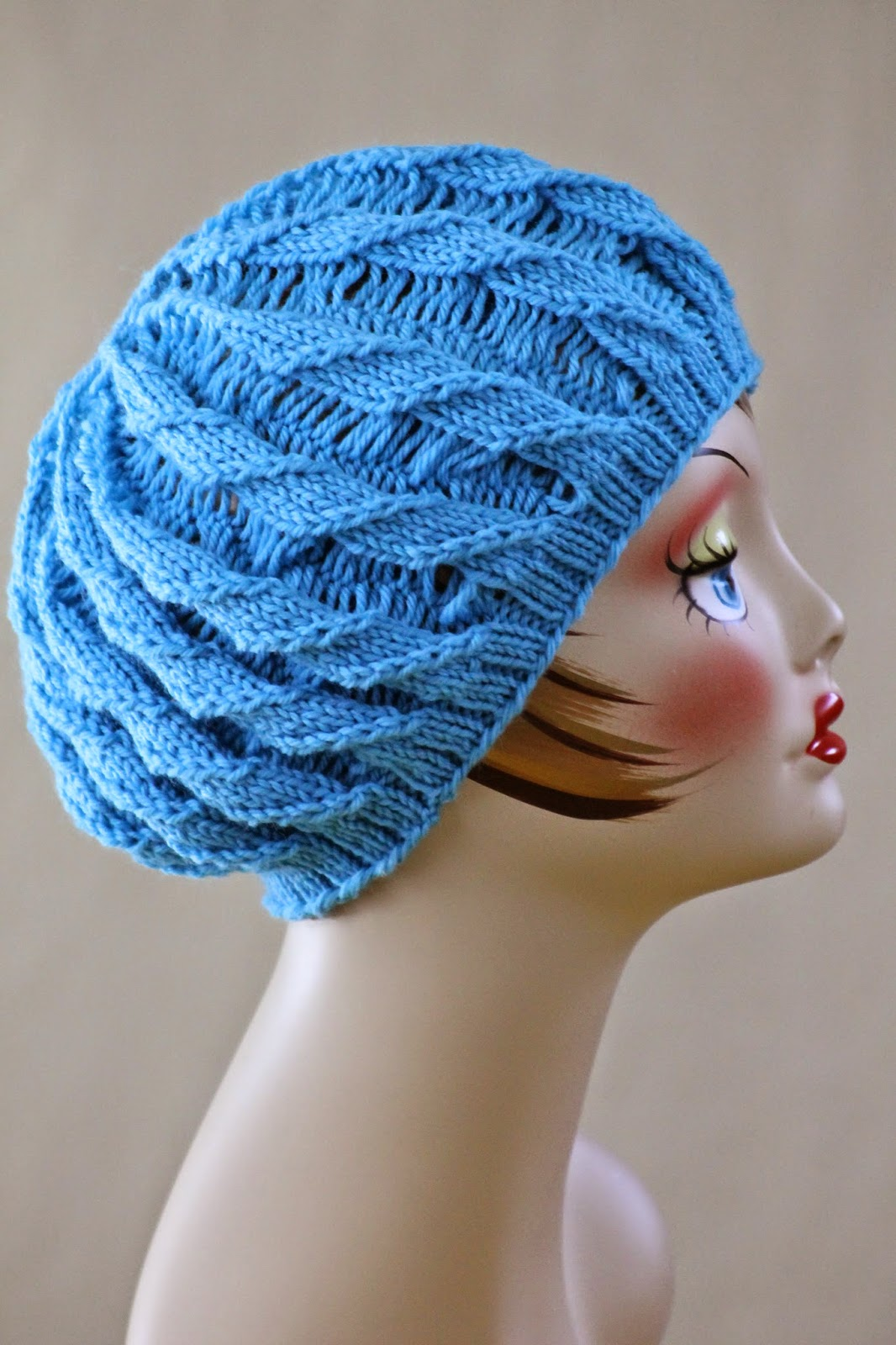 Balls To The Walls Knits Twilled Stripe Hat
