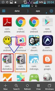 """In App folder you can find ''com.domobile.applock-1.apk'' and 'com.domobile.applockwatcher-1.apk"""""""