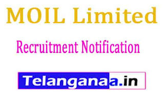 MOIL Limited Recruitment Natification 2017