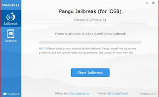 Jailbreak Your iPhone iOS 8 & 8.1 Using Pangu
