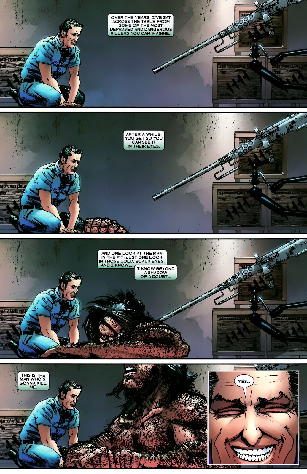 Read online Wolverine (2003) comic -  Issue #56 - 31