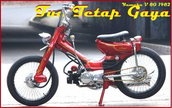 kumpulan modifikasi motor yamaha 80