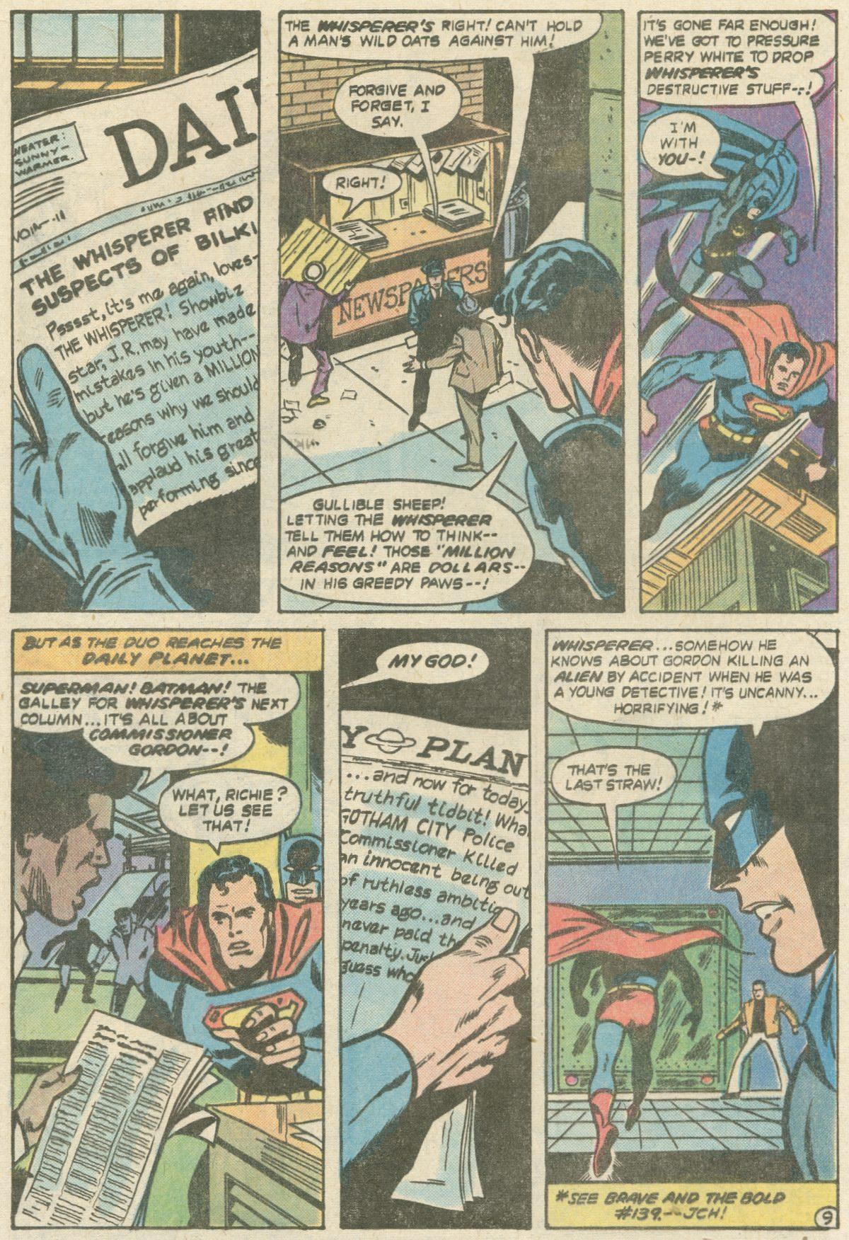 Read online World's Finest Comics comic -  Issue #252 - 13