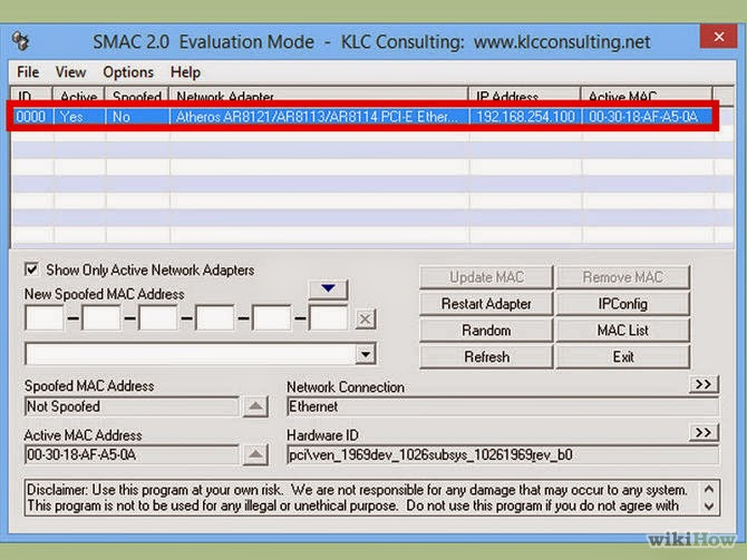 How to Change a Computer's Mac Address in Windows ~ IT