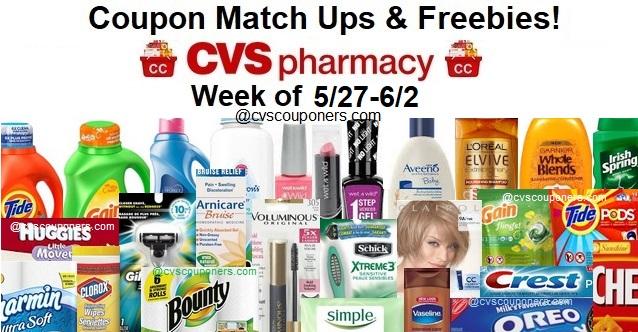 http://www.cvscouponers.com/2018/05/cvs-coupon-matchups-freebies-527-62.html