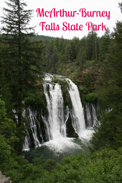 Get out of the Redding Heat at McArthur-Burney Falls Sate Park!