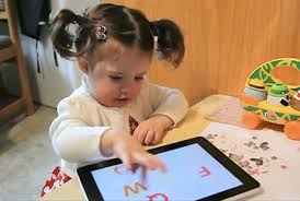 Infants and toddlers are exposed to digital technology