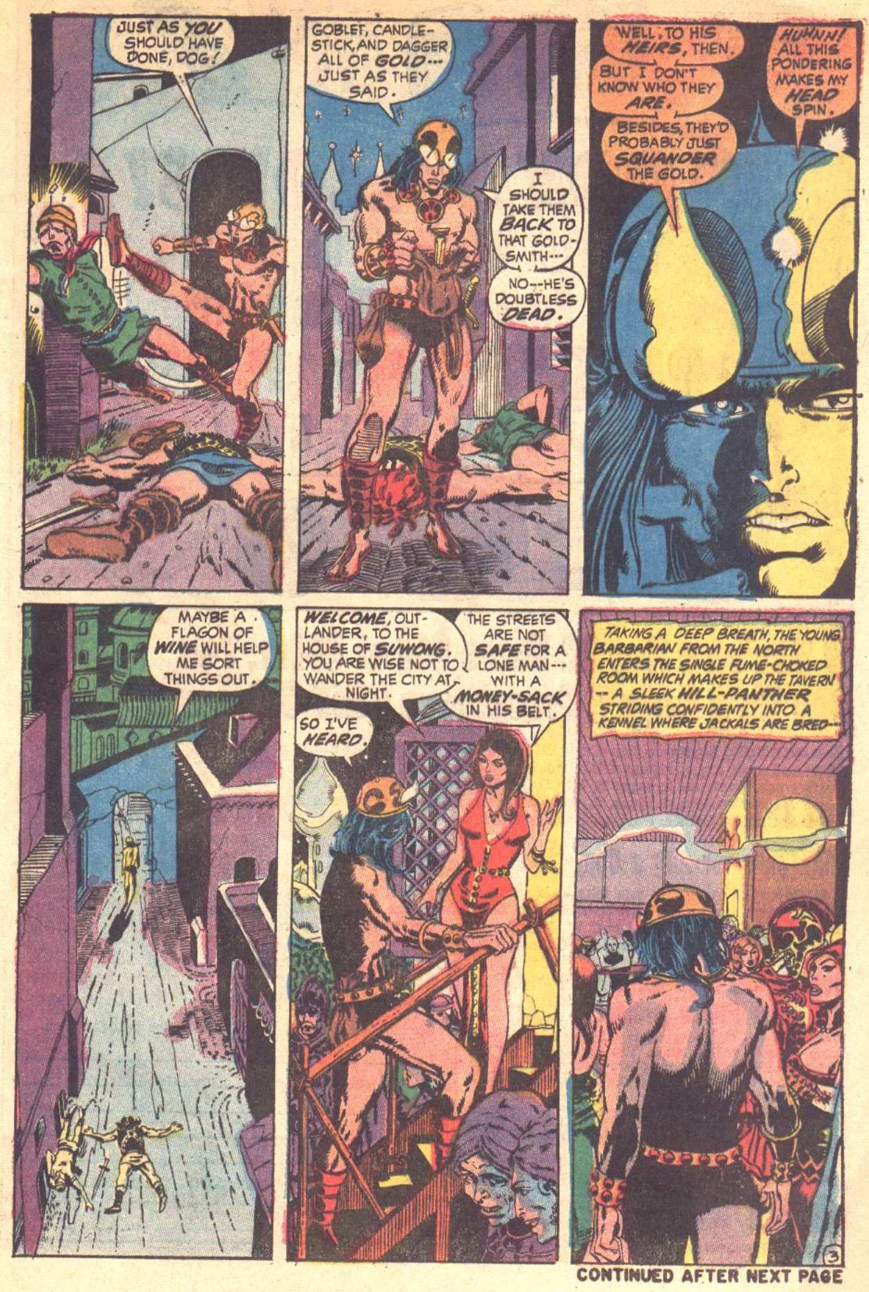 Conan the Barbarian (1970) Issue #6 #18 - English 4