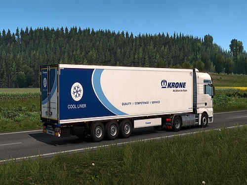 Euro Truck Simulator 2 Krone Trailer Pack Game Free Download