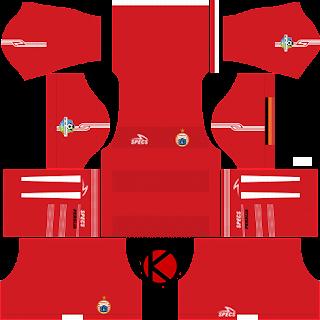 Persija Jakarta Kits 2018 - Dream League Soccer Kits