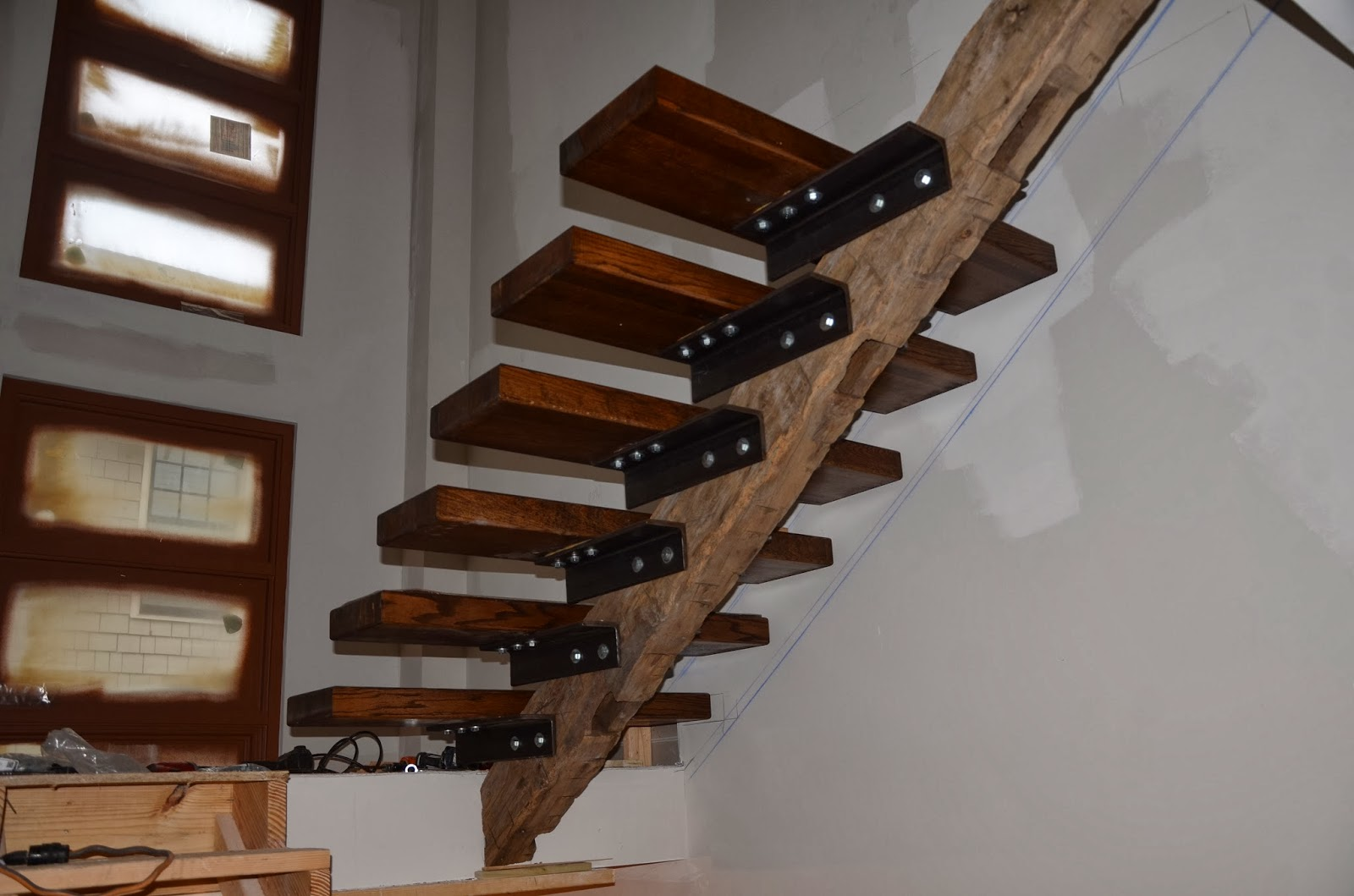 Custom Stairs Materials And Construction Building Our