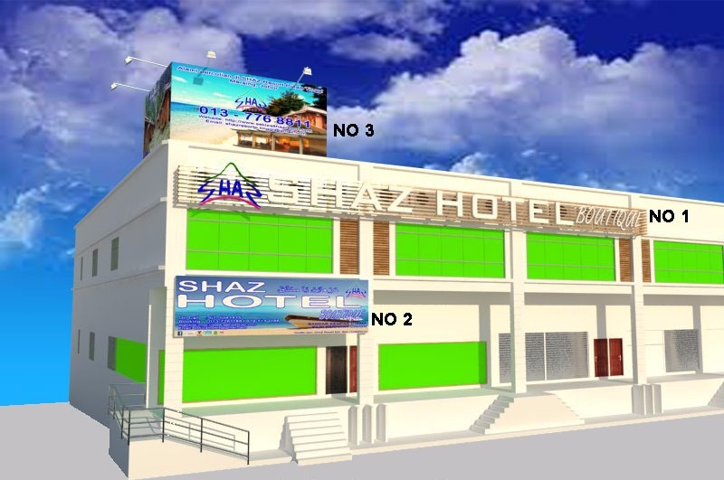 Sakiza hotel homestay and house for sale shaz butik hotel for Houses for sale with suites