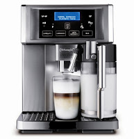 DeLonghi Compact Espresso Machine With Milk Frother