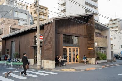 Allpress Espresso Tokyo Roastery & Cafe in Kiyosumi-Shirakawa, Tokyo.