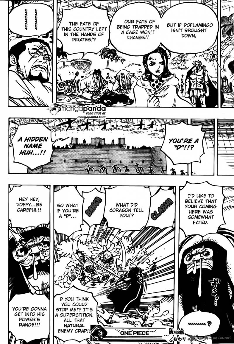 One Piece 768: The Trigger Back Then