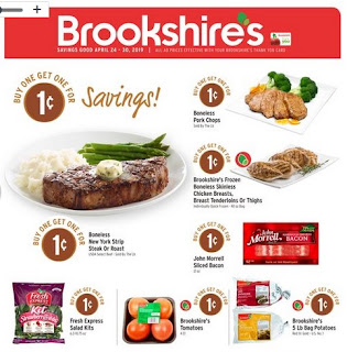 Brookshire's Weekly Ad April 24 - 30, 2019