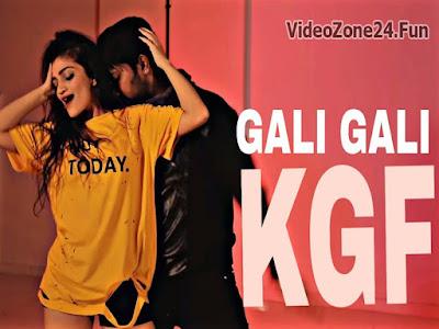 Gali Gali By Neha Kakkar-Lyrics | KGF Poster