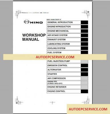 autoepcservicetruck: Hino Diesel Truck Workshop Manual 2008