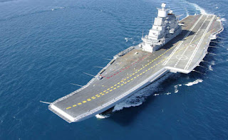 INS Vikramaditya for first time to be fitted with marine